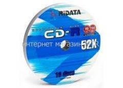 Ridata CD-R 700Mb 80min 52x (bulk 10)