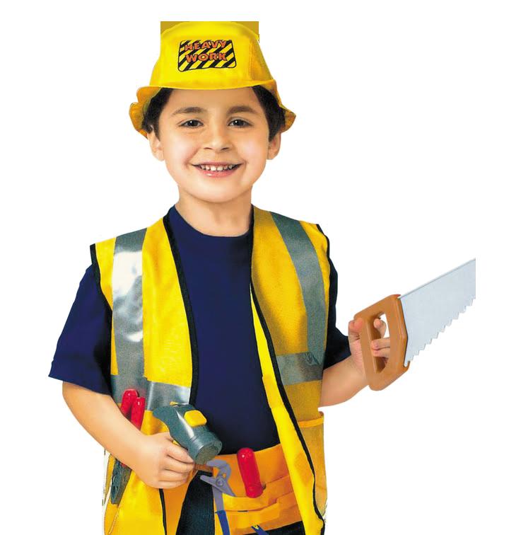 Детский игровой костюм «Macтep нa вce pуки» 9 предметов