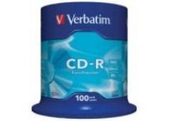 Verbatim CD-R 700Mb 80min 52x (cake100) extra [197011]