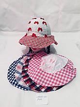 Детская красивая летняя панамка  для девочки р. 50
