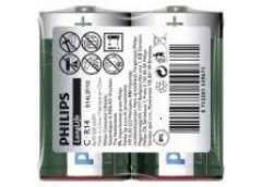 Батарейка Philips R14 1x2 кор. (24/384)