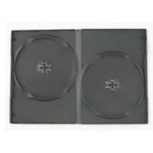 Бокс для DVD 9мм черн. на 2диска (100)