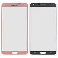 Стекло Samsung N9000 Galaxy Note 3 розовое, Скло Samsung N9000 Galaxy Note 3 рожеве