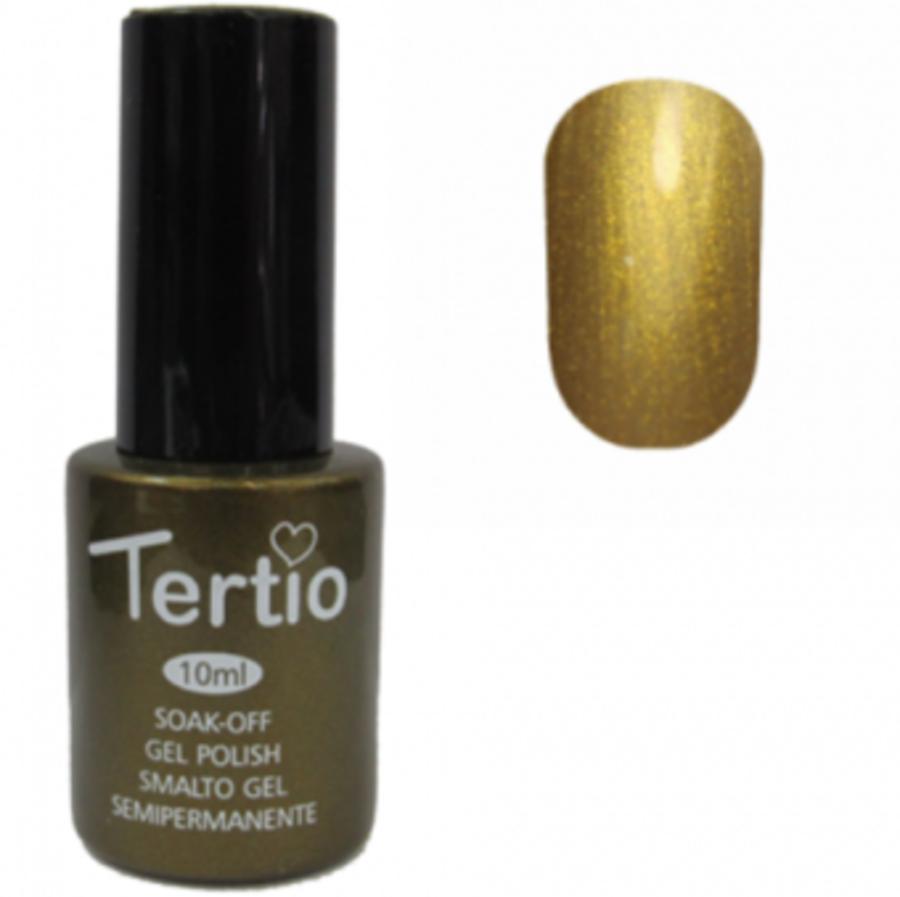 Гель-лак Tertio № 162 (горчичный с микроблеском)