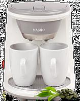 Кофеварка 450 Вт 2 чашки Magio MG-342