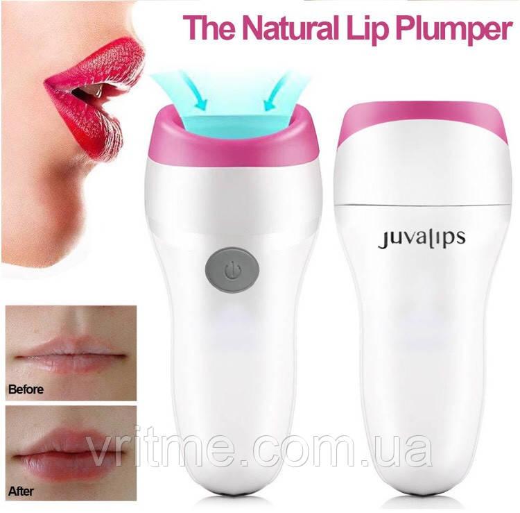 Електричний прилад для збільшення губ - засіб Juva Lips Automatic Plumper