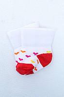 Носки детские белые на 0-3 месяцев 6790