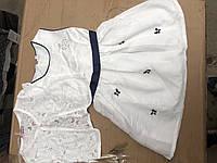 Детский комплект для девочек,нарядное платье и балеро