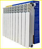 Біметалічний радіатор ZOOM 500/100, фото 2