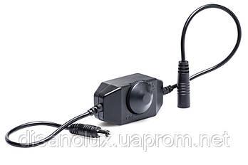 Диммер ручное управление 6A  12V для светодиодной ленты  Черный