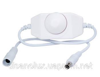 Диммер ручное управление 6A  12V для светодиодной ленты  Белый