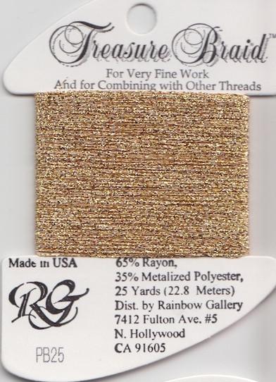 Нить TREASURE Braid Rainbow Gallery