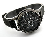 Часы женские Турбина - вращающийся циферблат, black, фото 1