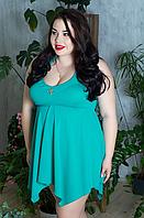 Купальник-сукня для пишних жінок, з 48-98 розмір, фото 1