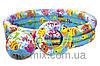 Детский надувной бассейн  Аквариум с мячом и кругом Intex 59469  (132 х 28 см)