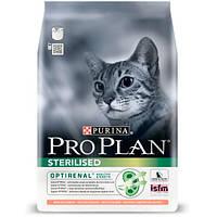 Pro Plan Cat Sterilised сухой корм для стерилизованных кошек с лосось, 400 г