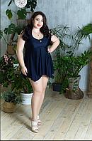 Купальник-платье для крупных женщин, с 48-98 размер, фото 1