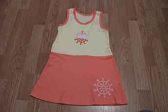 Детское летнее платье Спорт Размер 110 - 116 см