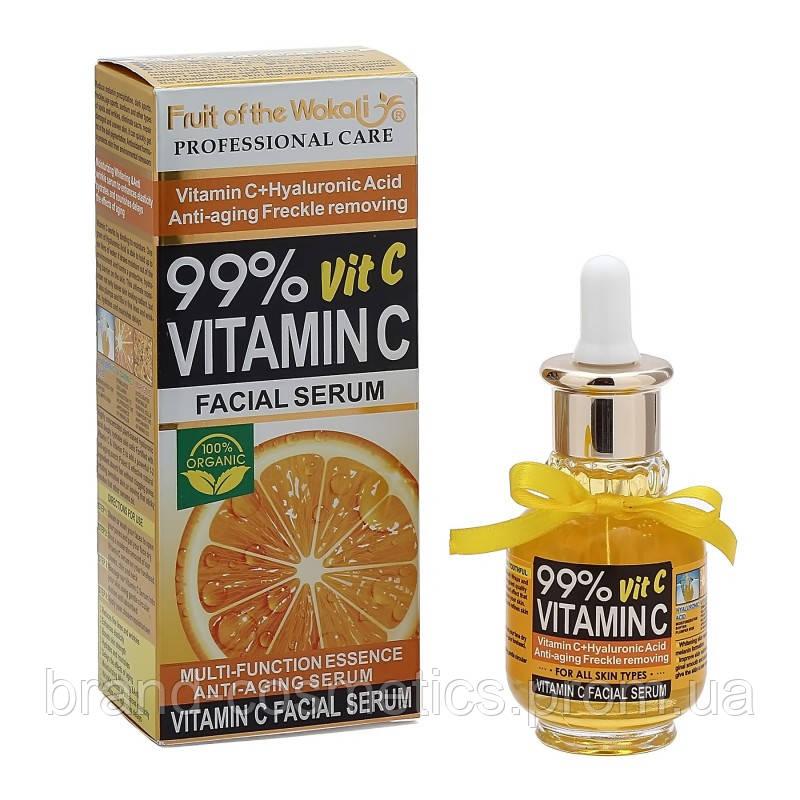 Сыворотка для лица  Fruit of the Wokali Vitamin C Facial Serum