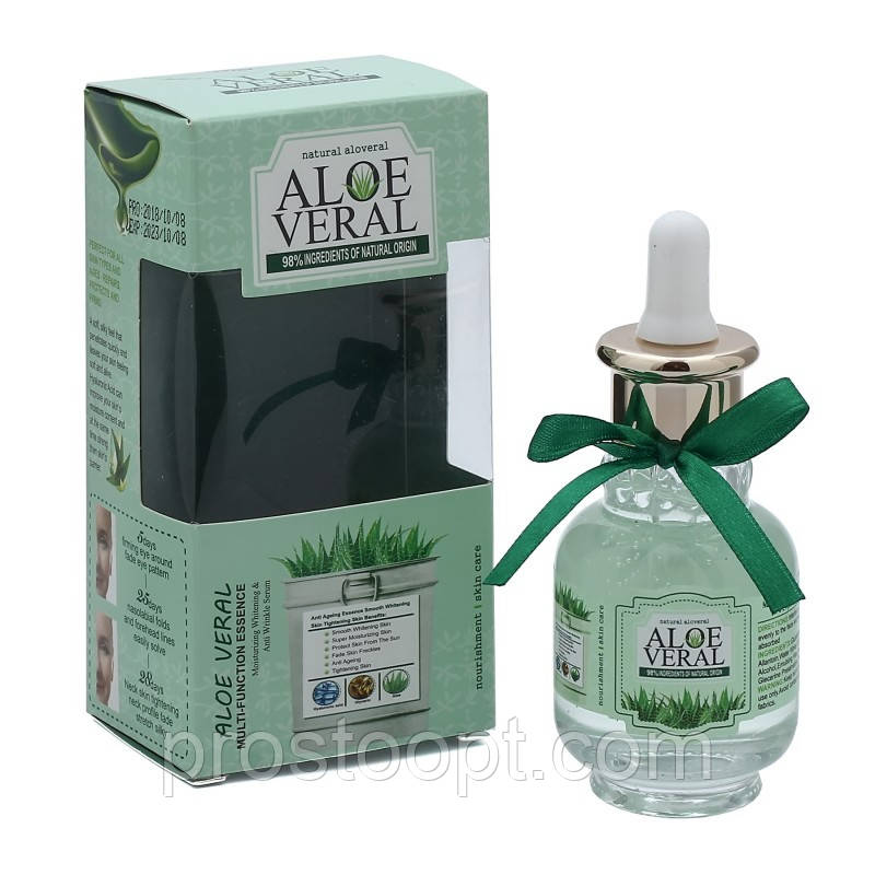 Сыворотка для лица Fruit of the Wokali Multi Function Essence Aloe Veral