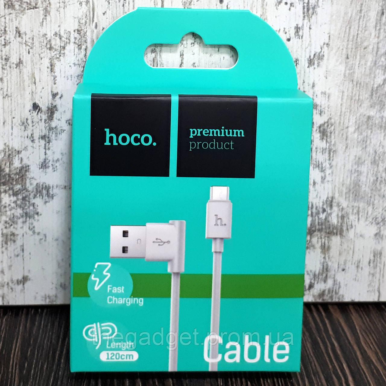 Hoco L Shape Micro USB кабель (1.2 m)