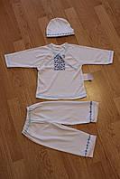 Ясельный комплект с вышивкой Малыш Размер 80 - 86 см