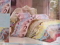 Постельное белье двуспальное East Comfort цветное