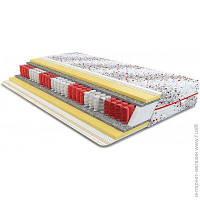 Матрас анатомический, ортопедический двуспальный ширина 150 см длина 190 см пружинный войлок, материал с эффектом памяти (Memory Foam), синтепон,