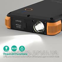 Внешний аккумулятор RavPower Power Bank Outdoor Solar Charger 25000mAh Black/Orange (RP-PB092), фото 3