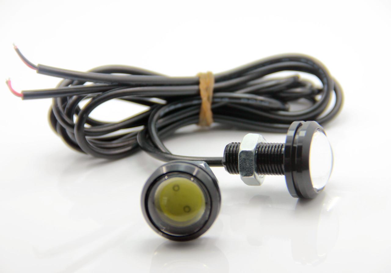 Точечные дневные ходовые огни DRL-01 3W 200LM 6000K 23mm орлиный глаз