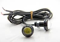 Точечные дневные ходовые огни DRL-01 3W 200LM 6000K 23mm орлиный глаз, фото 1