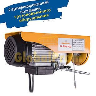 Таль электрическая РА 250/500, электроталь, электроталь РА, электрическая лебедка, таль РА 500 кг