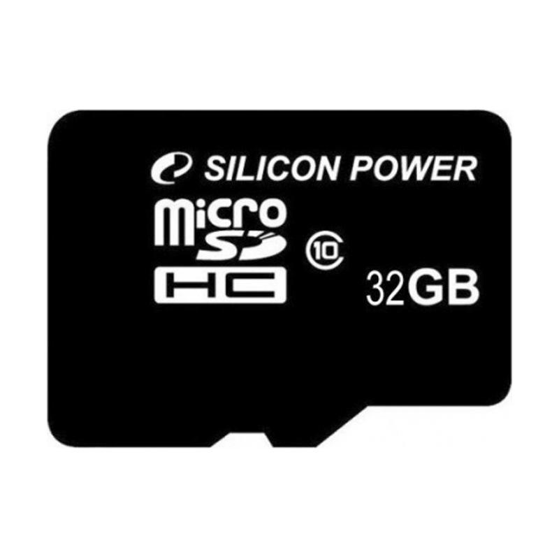 Карта памяти microSDHC 32Gb SiliconPower (Class 10)
