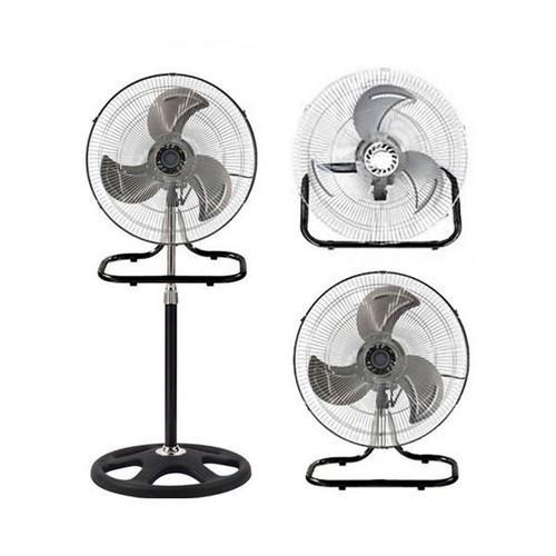 Вентилятор металлический очень мощный 3 в 1 напольный настольный настенный FS-4521 бытовой вентилятор