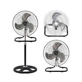 Вентилятор металлический очень мощный 3 в 1 напольный настольный настенный FS-4521 бытовой вентилятор, фото 2