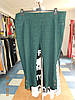 Бриджи батальные зеленого цвета из шикарной ткани-жатки со стречем Triesta