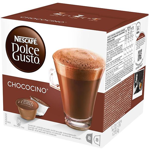 Горячий шоколад Nescafe Dolce Gusto Chococino 16 шт. (Нескафе Дольче Густо), Германия