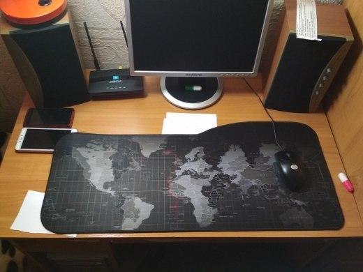 Игровая поверхность фигурная Карта
