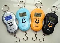 Весы ручные подвесные кантер электронный цифровой безмен до 40 кг, до 80 кг. WeiHeng, GuangYu