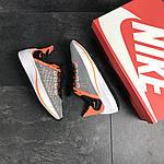 Мужские кроссовки Nike EXP-X14 (серо-оранжевые), фото 3