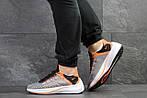 Мужские кроссовки Nike EXP-X14 (серо-оранжевые), фото 5