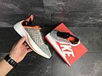 Мужские кроссовки Nike EXP-X14 (серо-оранжевые), фото 4