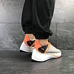 Мужские кроссовки Nike EXP-X14 (серо-оранжевые), фото 6