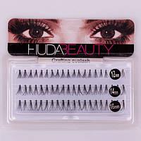 Пучковые ресницы Huda Beauty