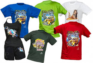 Футболки на заказ, печать на футболках