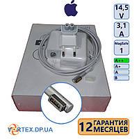 Зарядное устройство для ноутбука Apple L MagSafe 3,1A 14,5V класс A++ (в фирменной коробке, + AC-вилка) нов