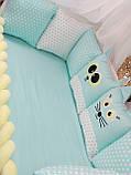 Комплект бортиков в кроватку, фото 2