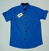 Стильная рубашка-шведка  для мальчика рост 134-164 см, фото 1