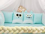 Комплект бортиков в кроватку, фото 3