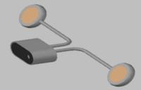 Светодиодный бра 8Вт WL-CM08G44, фото 1